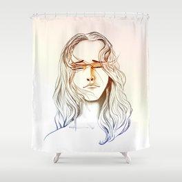 GIULIA'S PORTRAIT Shower Curtain