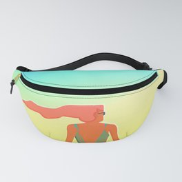 Surfing The Groovy Summer Fanny Pack