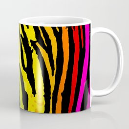 Rainbow Tiger Coffee Mug