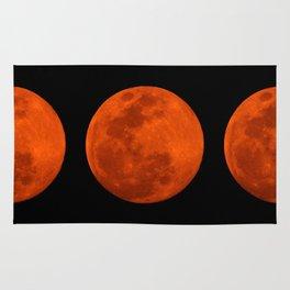 Orange Moon Rug