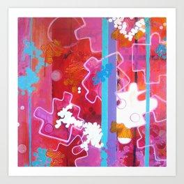 """""""Puzzle Piece"""" Art Print"""