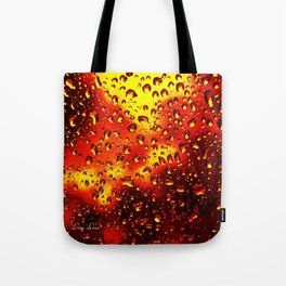 I set fire to the rain Tote Bag
