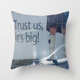 Trust Is Everything Throw Pillow