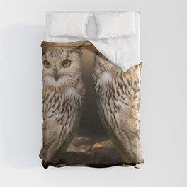 Two Owls Duvet Cover