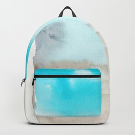 180815 Watercolor Rothko Inspired 4 | Colorful Abstract | Modern Watercolor Art Backpack