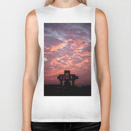 Mexican sunrise Biker Tank