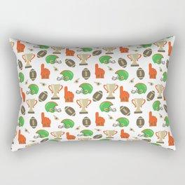American Football pattern Rectangular Pillow