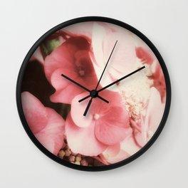 Heavenly Hydrangeas Wall Clock