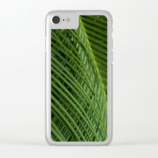 Palm leaves 2 Clear iPhone Case