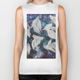Galaxy Bettas II Biker Tank