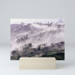 FOGGY FOREST in the VIETNAMESE MOUNTAIN Mini Art Print