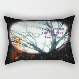 The Dreamer, The Drifter, The Free Rectangular Pillow