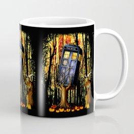 Halloween Tardis doctor who captured by witch Coffee Mug