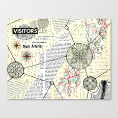 Visitors Canvas Print