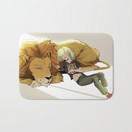 Yuri and Lion Bath Mat