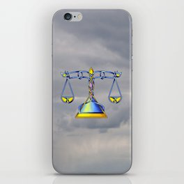 Scales Knot iPhone Skin