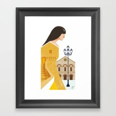 Illustre Conero - Sirolo Anchient Tower Framed Art Print