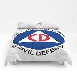Civil Defence Comforters
