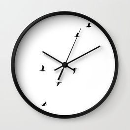 Seagull Sortie Wall Clock