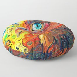 I Have My Eye On You Floor Pillow