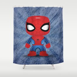 Spider man Funko Shower Curtain
