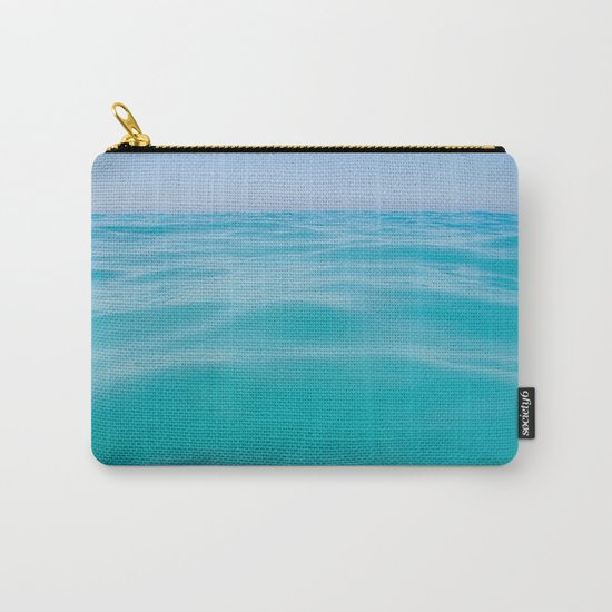 NEVER ENDING OCEAN Carry-All Pouch