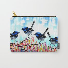 Fairy Wrens Carry-All Pouch