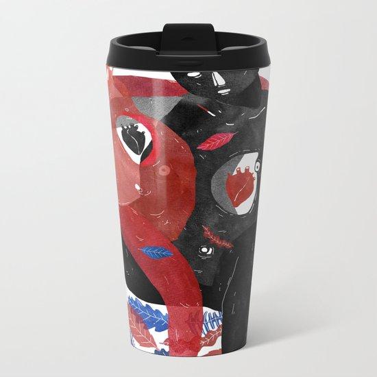 Couple Metal Travel Mug