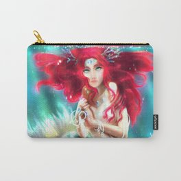 Mermaid underwater Carry-All Pouch