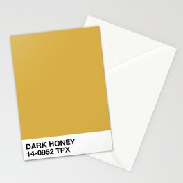 dark honey Stationery Cards