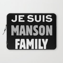 Je Suis - Manson Family Laptop Sleeve