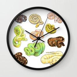 Snakes Wall Clock