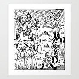 kings daily Art Print