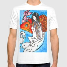 The Sea King's Daughter Mens Fitted Tee White MEDIUM