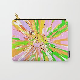 Spring Dahlia Abstract Flower Carry-All Pouch
