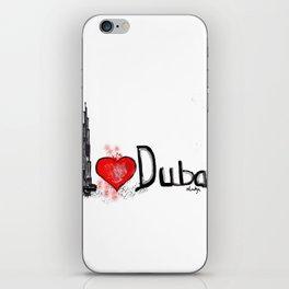I love Dubai 1 iPhone Skin