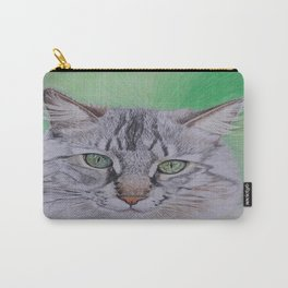 Striped cat Carry-All Pouch