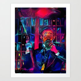 Altered Carbon - Poe Armed and Ready (Chris Conner) Art Print