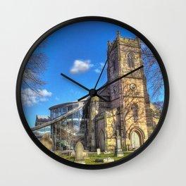 St Barnabus Church Wall Clock