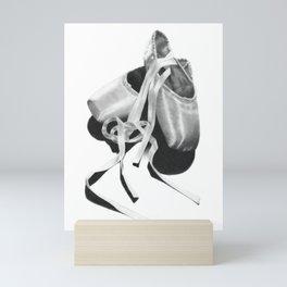 Ballet Shoes Mini Art Print