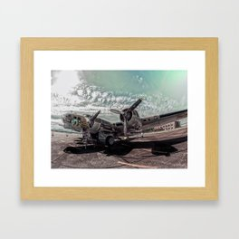Bomber Framed Art Print