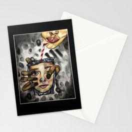 Parasitic beauty Stationery Cards