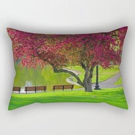 The park  Rectangular Pillow