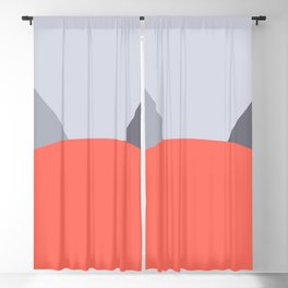 Deyoung Living Coral Blackout Curtain