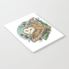 Winter Owl Notebook