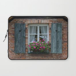 Window and Flowers Laptop Sleeve