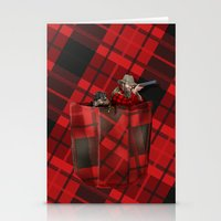 hunter Stationery Cards featuring Hunter by Piotr Burdan