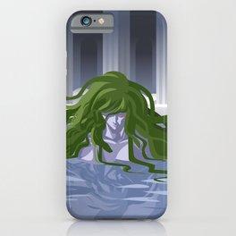 medusa gorgon mythology snakes monster iPhone Case