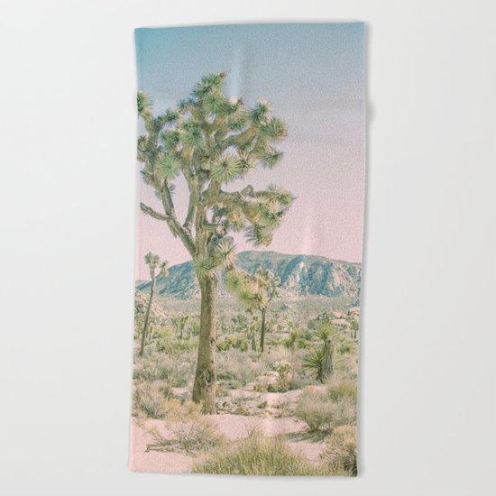 Joshua Tree Ombre Beach Towel