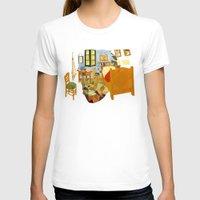 van T-shirts featuring van gogh by gazonula